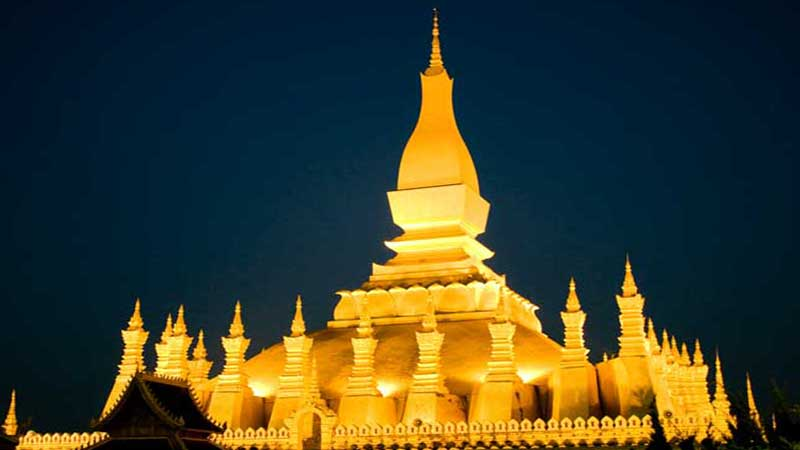 top 10 Buddhist temples in Pha That Luang